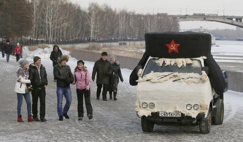 A Winter in Siberia