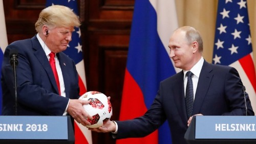 Trump's Surreal Phone Call With Vladimir Putin
