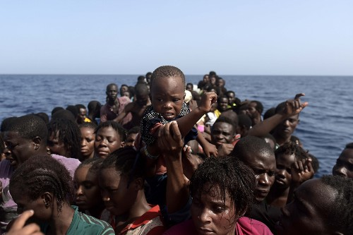 Harrowing Scenes From the Mediterranean as Migrants Risk Everything for a Chance at a Better Life