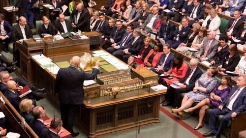 Britain's Political Chaos Shows Everything Is Okay