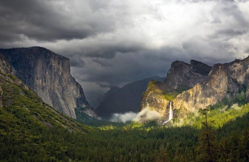 Yosemite National Park, Closed on Its 123rd Birthday