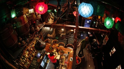 The Rise and Fall and Rise of the American Tiki Bar