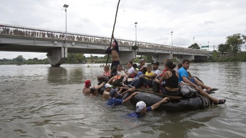 There Is No Easy Way for Trump to Stop the Latest Caravan