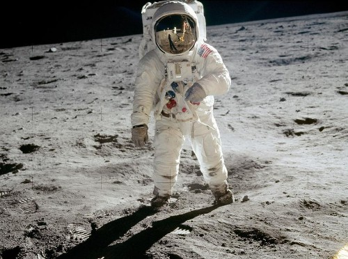 The Year Men Walked on the Moon