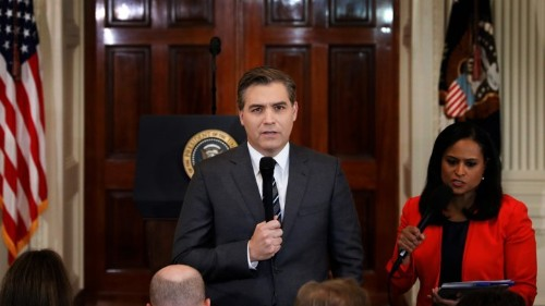 The Legal Precedent That Could Protect Jim Acosta's Credentials