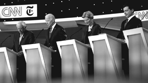 The Democratic Debates Are a Fantasy World