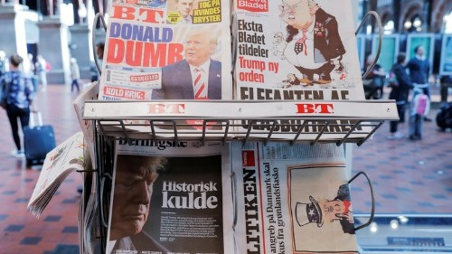 Denmark Learns What It's Like to Be at the Center of Trump's Attention