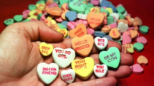 Sweet Talk: The Chalky Anthropology of Candy Hearts