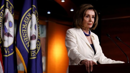This Is Not Where Nancy Pelosi Wanted to Be