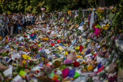 Photos: Mourning in New Zealand