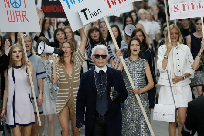 There Was No One Like Karl Lagerfeld
