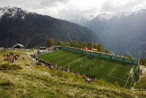 Photos: Soccer Fields Around the World