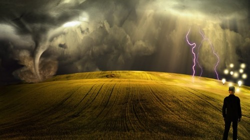 The Invisible Storm of the Neurotic Mind