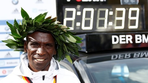 A New World Marathon Record Almost Defies Description