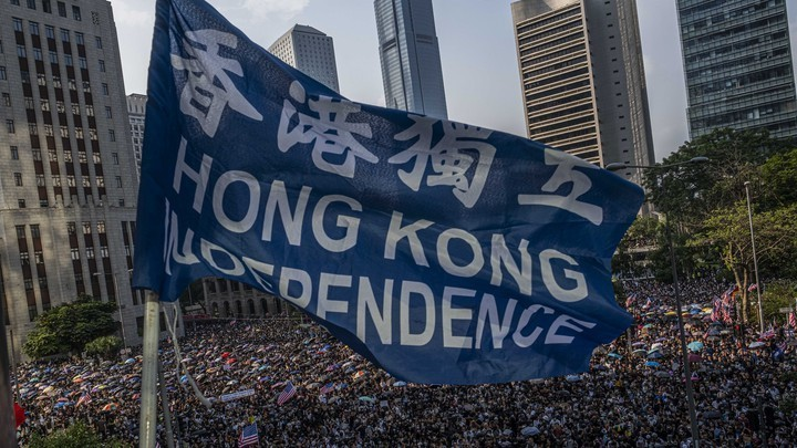 Hong Kong's Revolutionary Anthem Is a Challenge to China