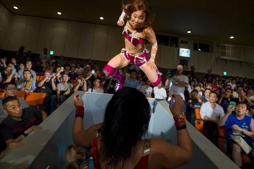 Professional Women's Wrestling in Japan
