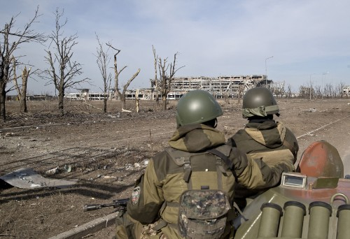 A Year of War Completely Destroyed the Donetsk Airport