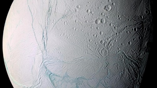 Microbes Could Thrive on Saturn's Icy Moon