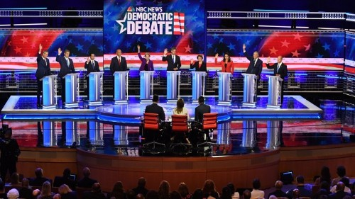Democratic Candidates Identify National-Security Threats