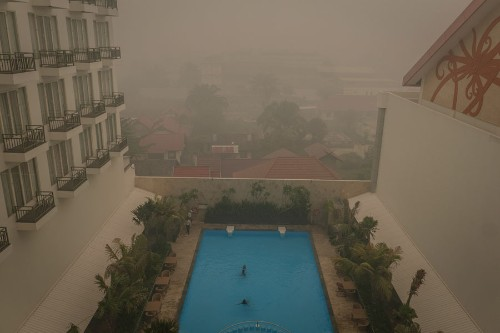 Fires in Indonesia Blanket Islands and Cities in Smog