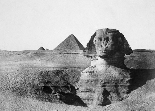 The Great Sphinx of Giza Through the Years