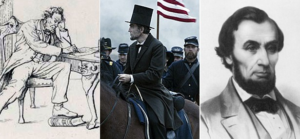 Great Emancipator or Creepy Slob? Historic Portrayals of Abraham Lincoln