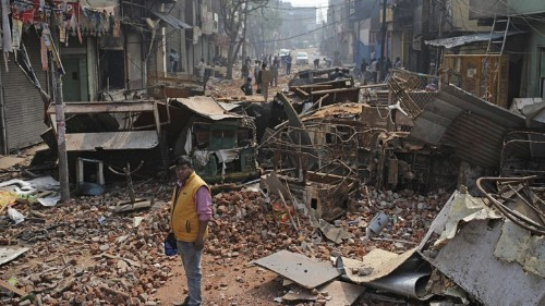 What Happened in Delhi Was a Pogrom