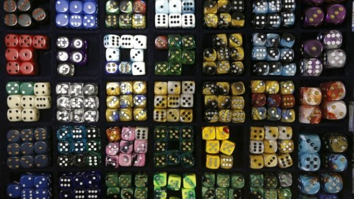 The Shape of Ancient Dice Suggests Shifting Beliefs in Fate and Chance