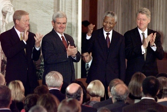 Gingrich vs. the Right on Apartheid: 'What Would You Have Done?'