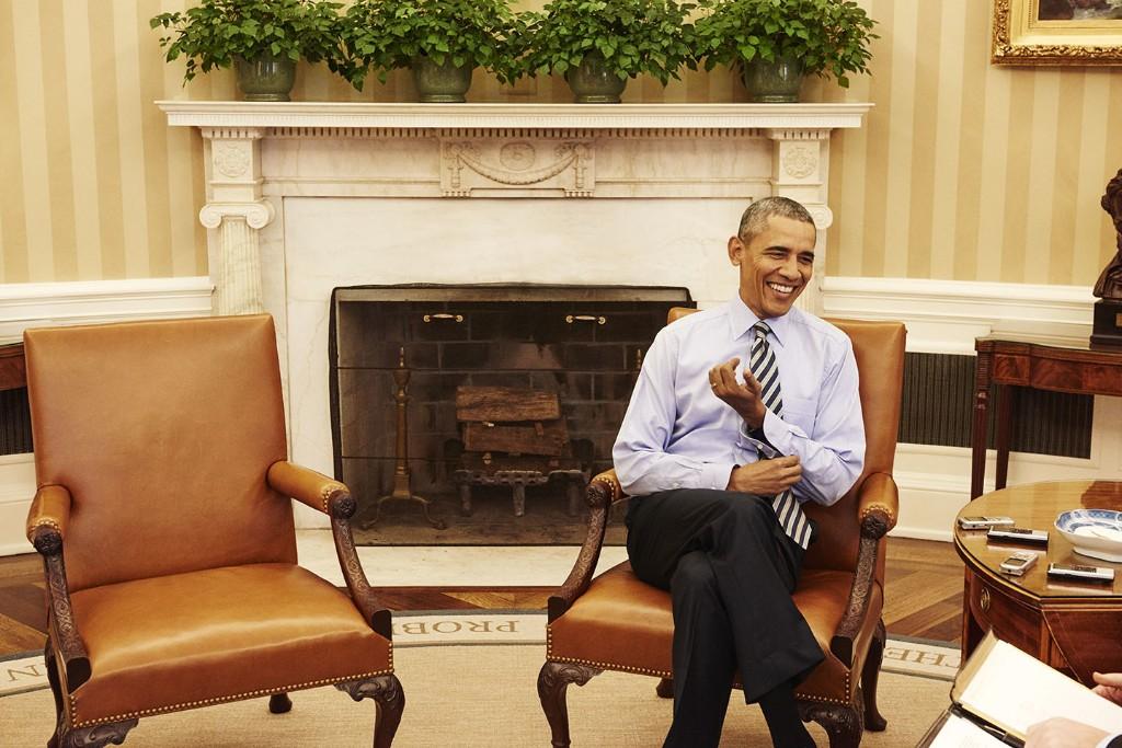 Obama Doctrine - Magazine cover