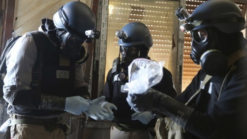 Syria, Iraq, and the Specter of Chemical Warfare