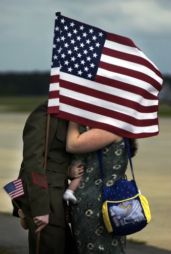 When My Husband Came Home From War, I Needed a Moment