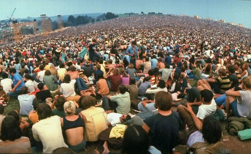 Photos of Woodstock 1969, on Its 50th Anniversary