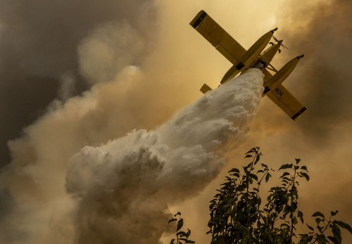 Wildfires Rage in Central Portugal: Photos