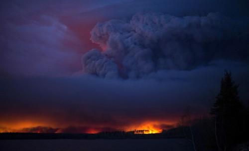 The Massive Wildfire Burning in Alberta