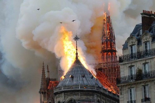 Photos: The Devastation of Notre-Dame Cathedral