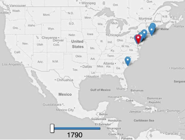 Mapping America's Westward Population March Over 220 Years