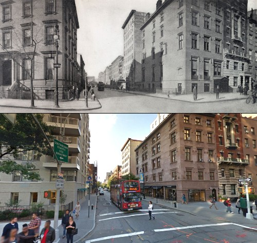 Fifth Avenue Then and Now: A Century of Streetviews in NYC