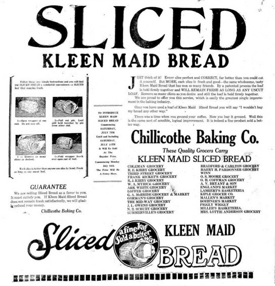 Happy Birthday, Sliced Bread! The 'Greatest Thing' Turns 85 This Week