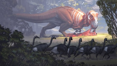 The Artists Who Paint Dinosaurs