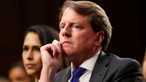 White House Blocks McGahn From Testifying to Congress