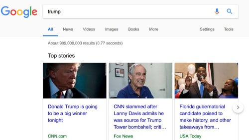 Why Google Doesn't Rank Right-Wing Outlets Highly
