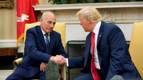 Serving Trump Revealed Who John Kelly Always Was