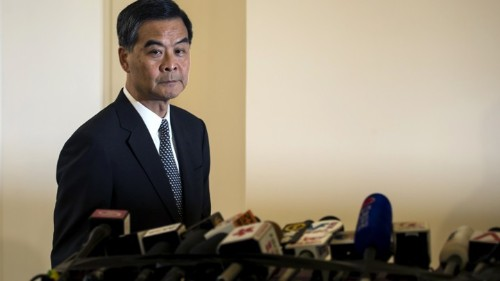 Hong Kong's Leader on How Democracy Would Help the Poor