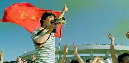 Springtime in Tiananmen Square, 1989