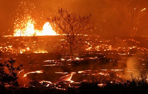 Photo Updates From Kilauea: The Lava Meets the Sea