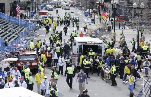 Photos of the Boston Marathon Bombing