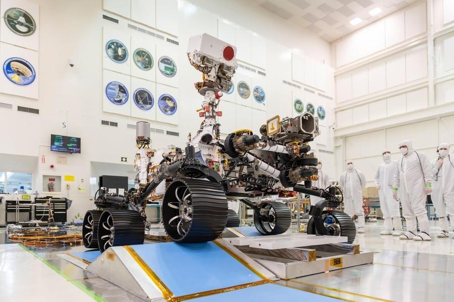 NASA Prepares to Launch the Mars Rover Perseverance