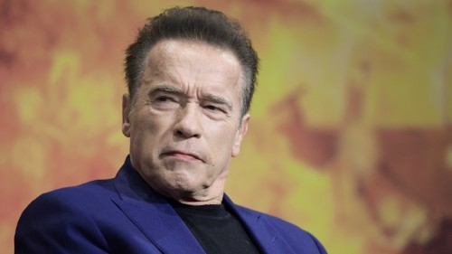 Arnold Schwarzenegger Is Not Impressed