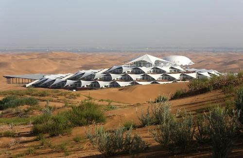 A Lotus in the Desert: China's Xiangshawan Resort